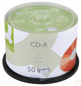 Q-Connect CD-R 700MB 80minutes Spindle Pack of 50 KF00421